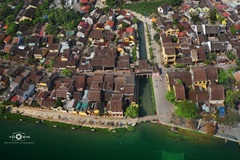 From above, every corner of Hoi An mesmerizes